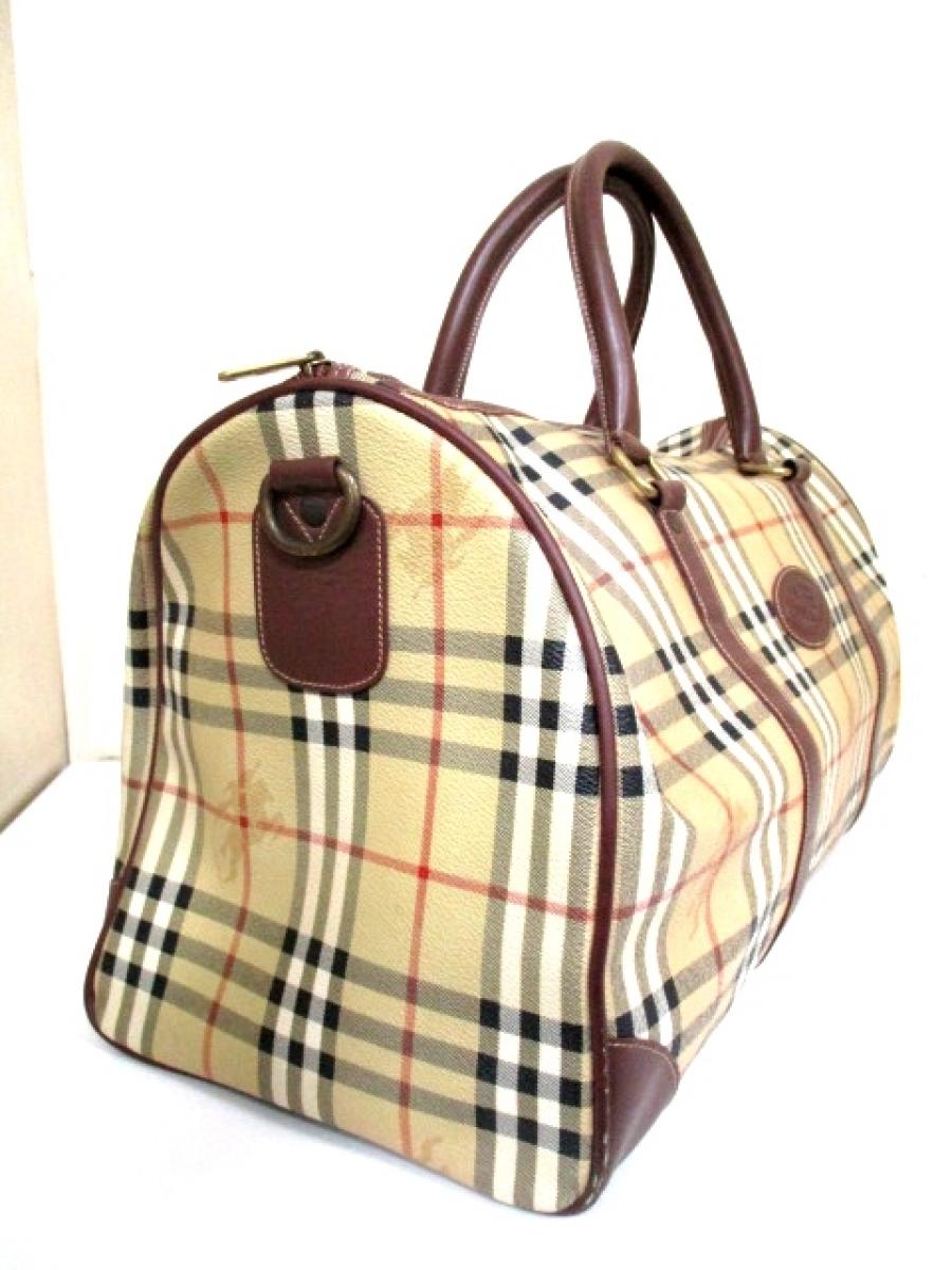 0146fa1f4011 Burberry Haymarket Check Duffel Bag - Luxurylana Boutique