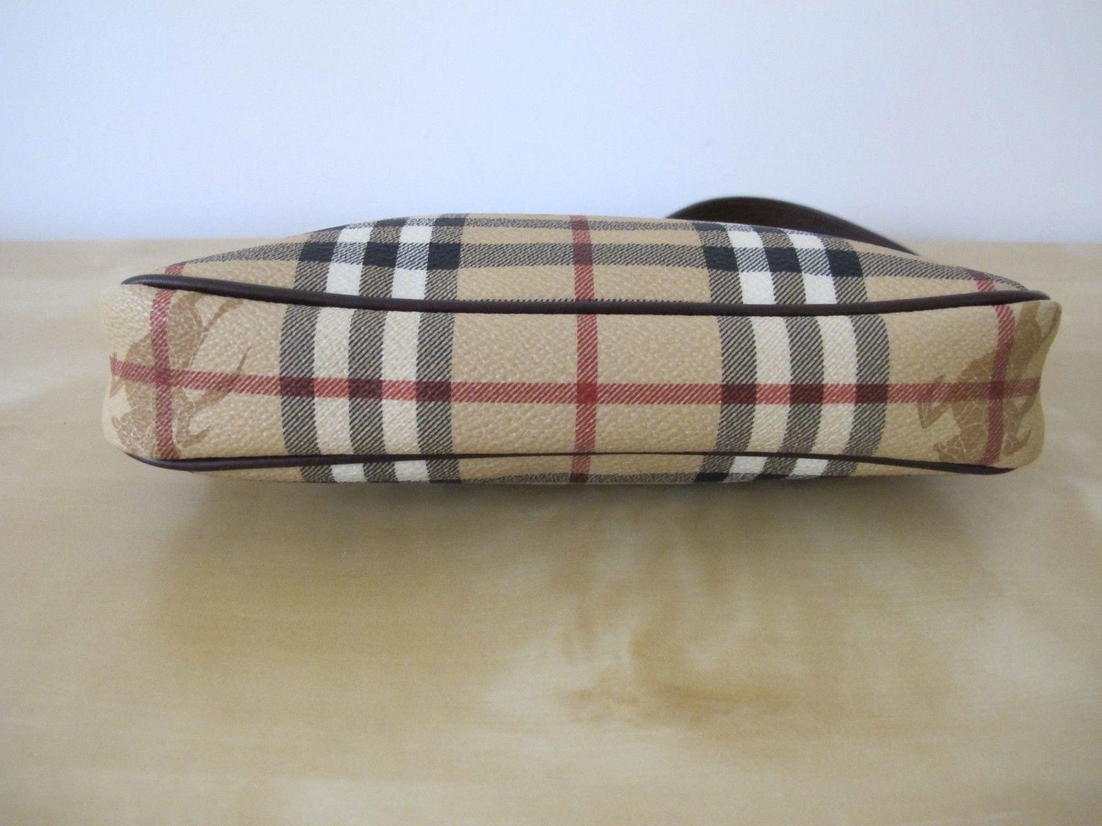 cddf160daca Burberry Nova Check Baguette Shoulder Bag - Luxurylana Boutique