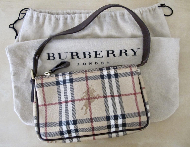 97119ce65b Burberry Nova Check Baguette Shoulder Bag - Luxurylana Boutique