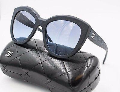 f351cd7f310 Chanel DK Blue Precious Butterfly Sunglasses - Luxurylana Boutique