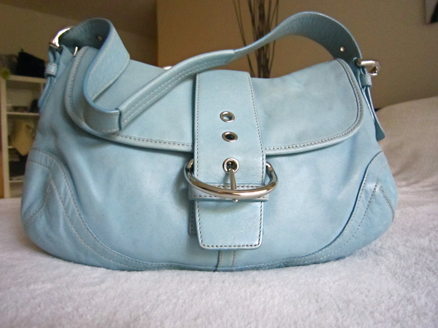 7d32a021a ... coupon for coach blue leather soho hobo bag luxurylana boutique 94451  bfd4a
