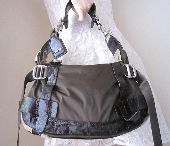 ae68788ed DKNY Brown Hobo Bag - Luxurylana Boutique