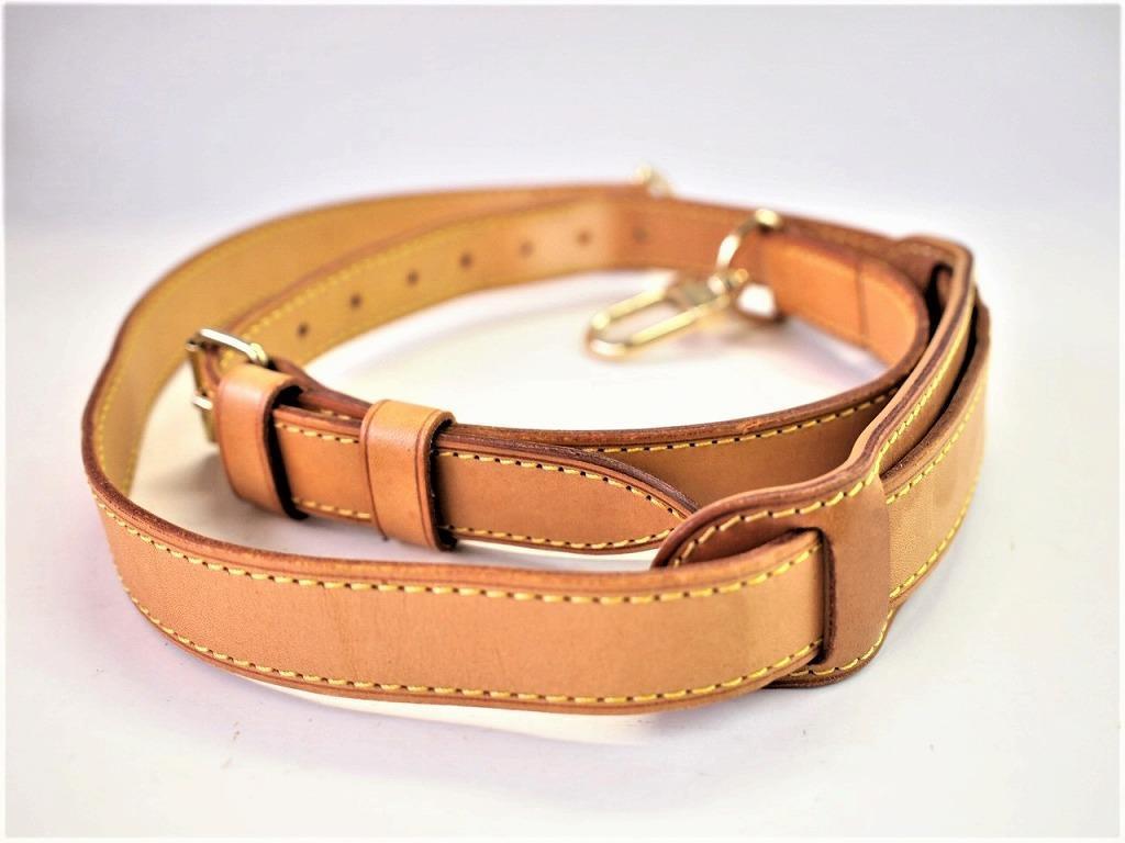 d0f6198772ef Louis Vuitton Adjustable Leather Shoulder Strap for Keepall - Luxurylana  Boutique