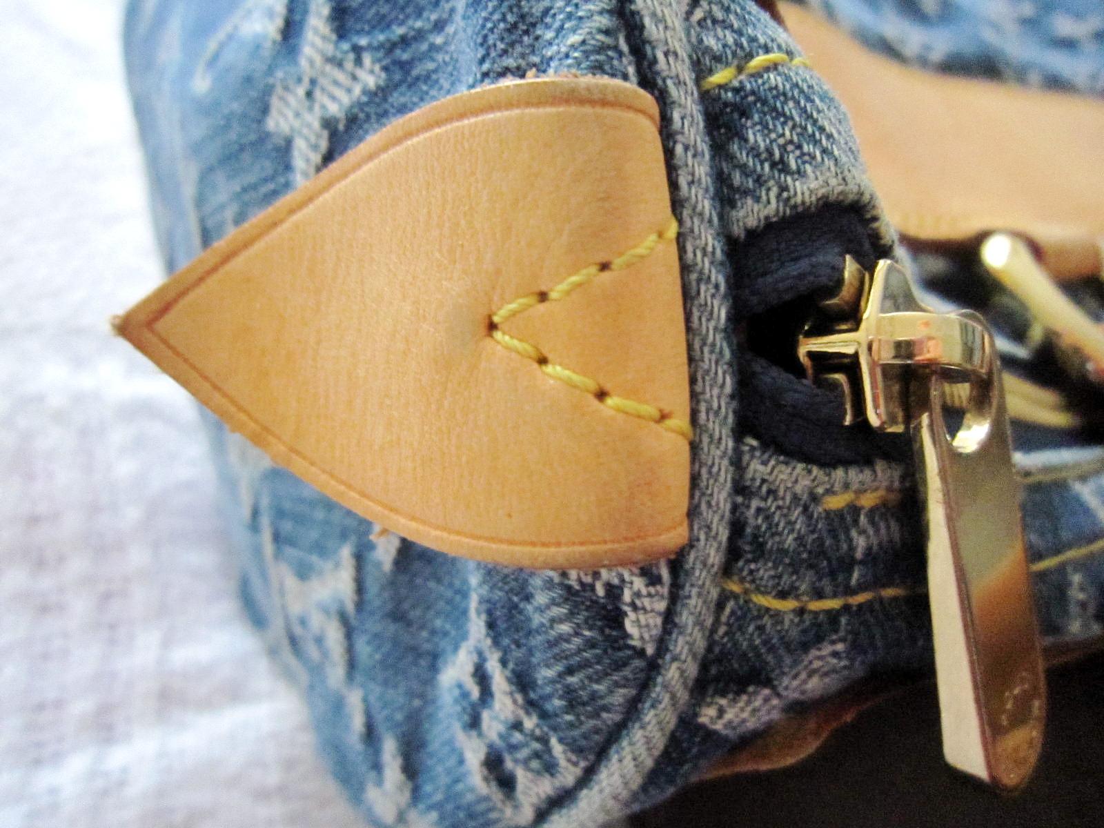 c6f01a0e97c4 Louis Vuitton Blue Monogram Denim Neo Speedy Handbag - Luxurylana ...