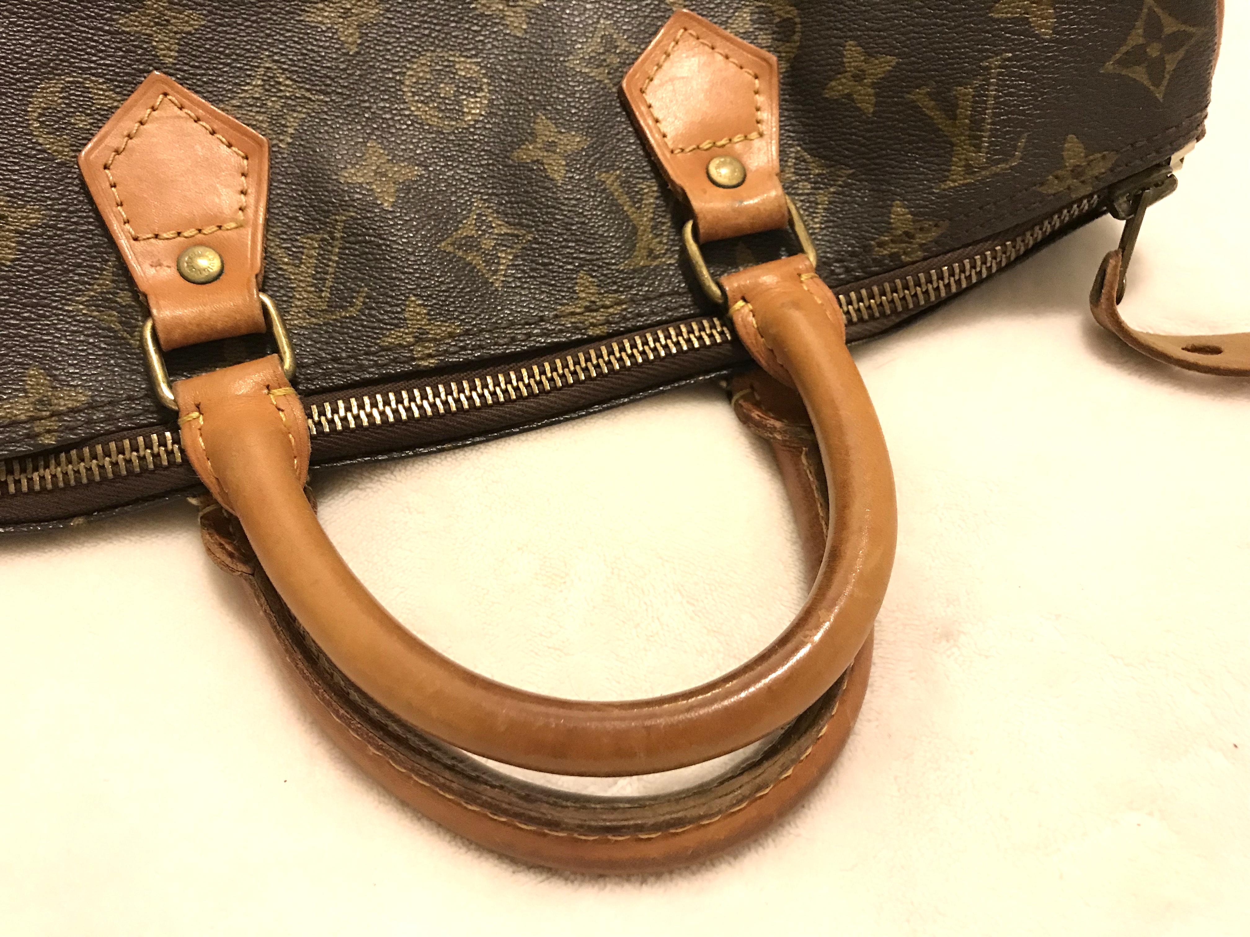 d230d8cc5532 Louis Vuitton Monogram Speedy 35 Handbag - Luxurylana Boutique