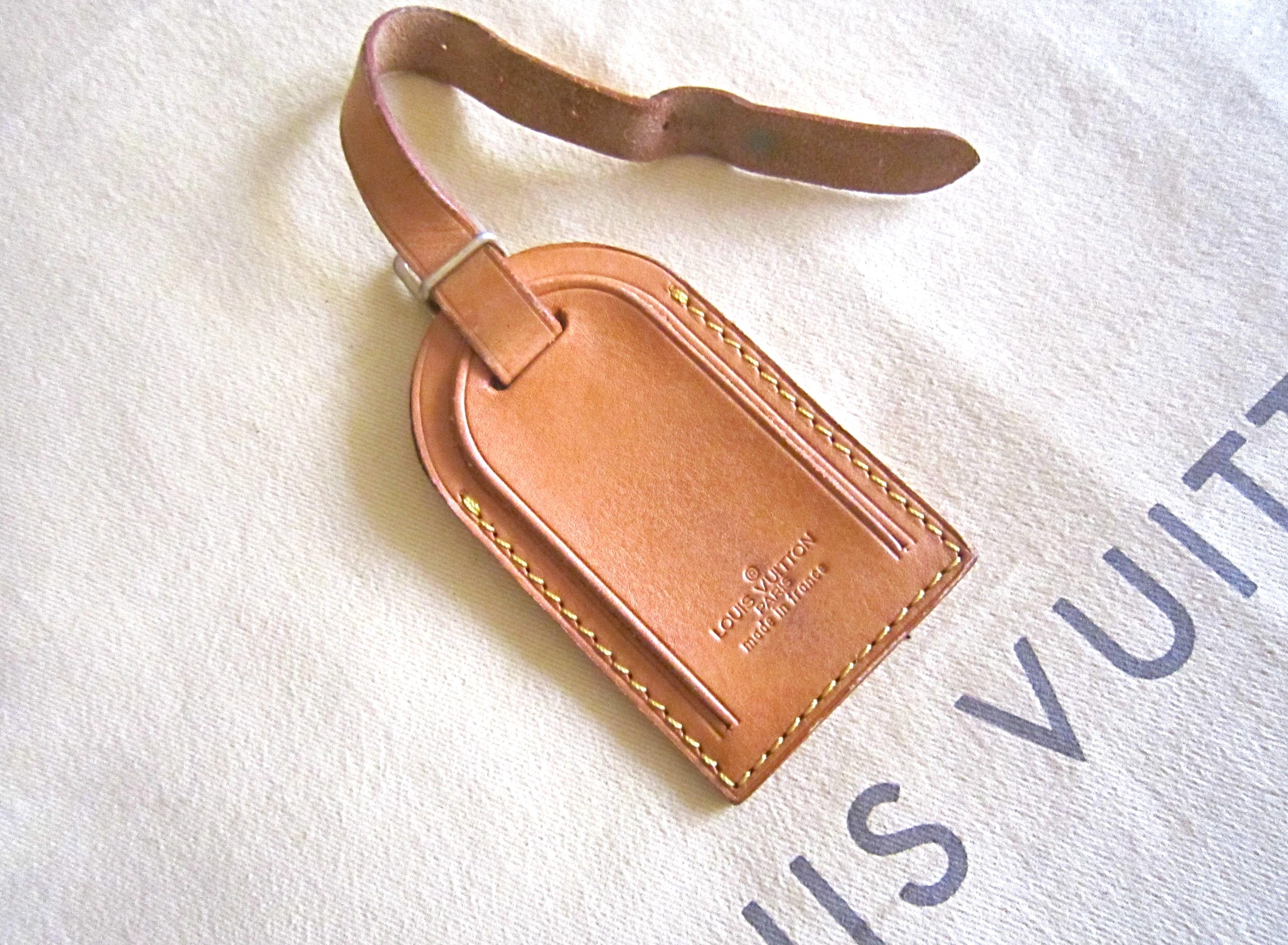 8825a246ee09 Louis Vuitton Cardholder Name Tag - Luxurylana Boutique