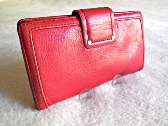 0859b548a36 Marc by Marc Jacobs Red Totally Turn-Lock Wallet - Luxurylana Boutique