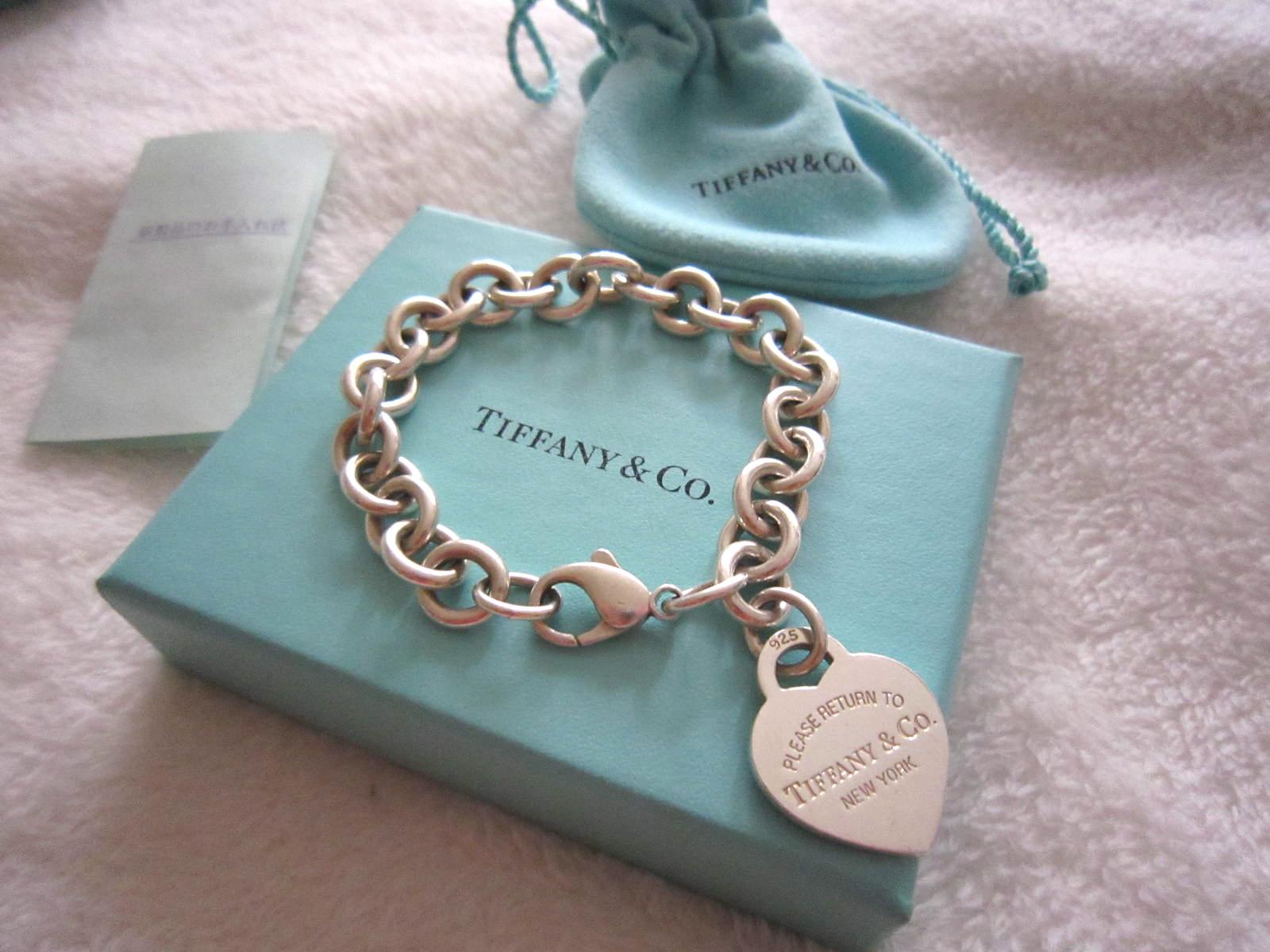 a3d1a76d5 Tiffany & Co 925 Heart Charm Bracelet - Luxurylana Boutique