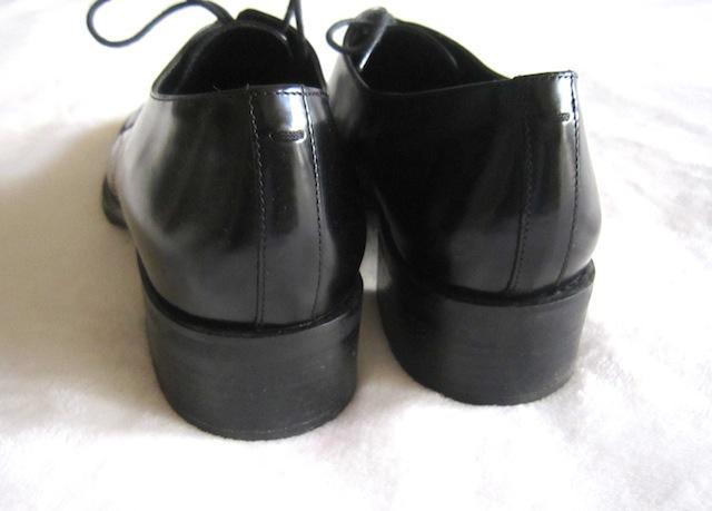 a3ad958e51f91 Via Spiga Men's Black Leather Oxford Shoes / Size 10 - Luxurylana ...