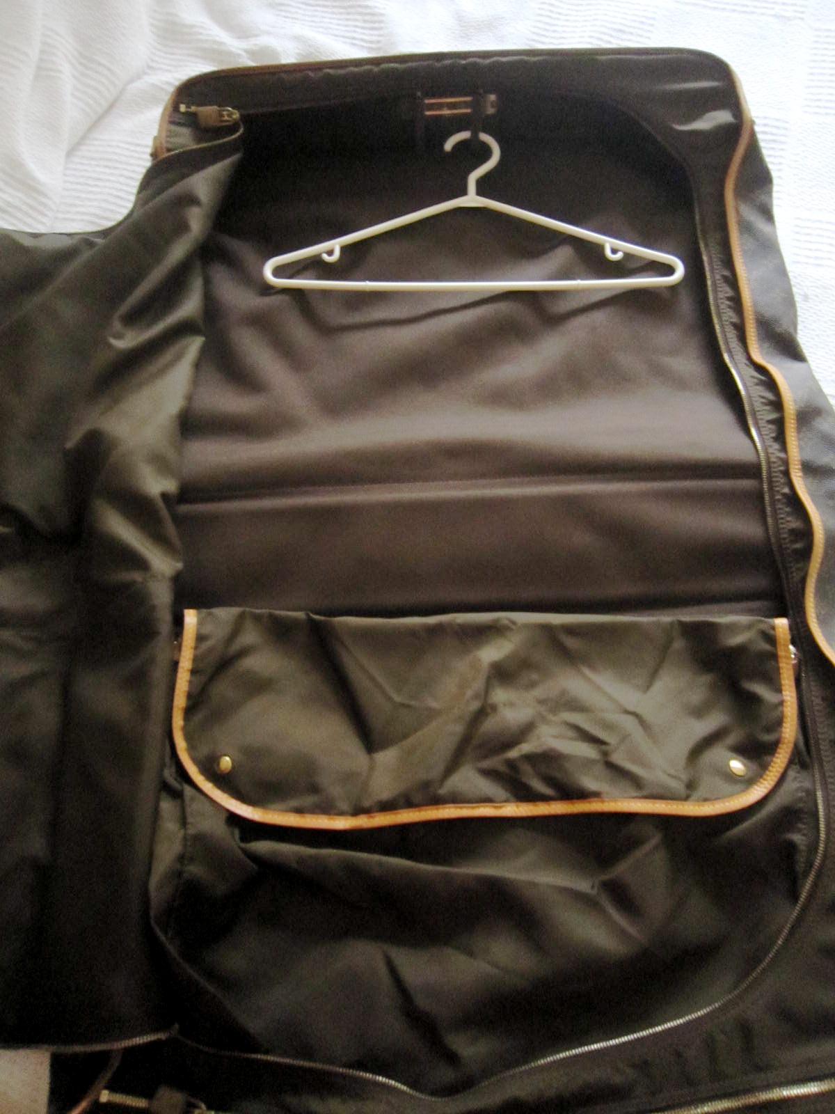 923048e56cf0 Vintage Louis Vuitton Garment Carry On Suitcase - Luxurylana Boutique